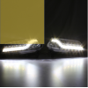 佑易 14-15款大众新POLO专用日行灯 波罗高亮带转向LED日间行车灯雾灯总成车外灯 低配款专用需配线组