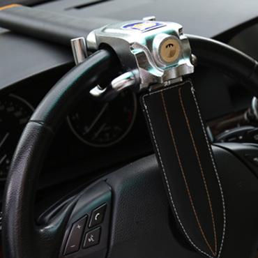 金盾汽车方向盘锁报警防盗锁具器车头锁应急砸窗自救 防盗锁 防身锁