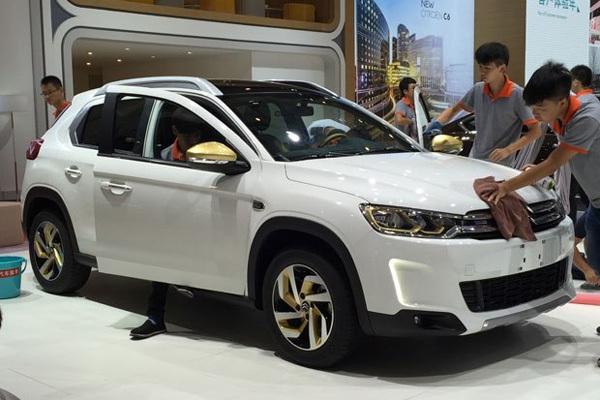 2016成都车展探馆:雪铁龙C3-XR 1.2T