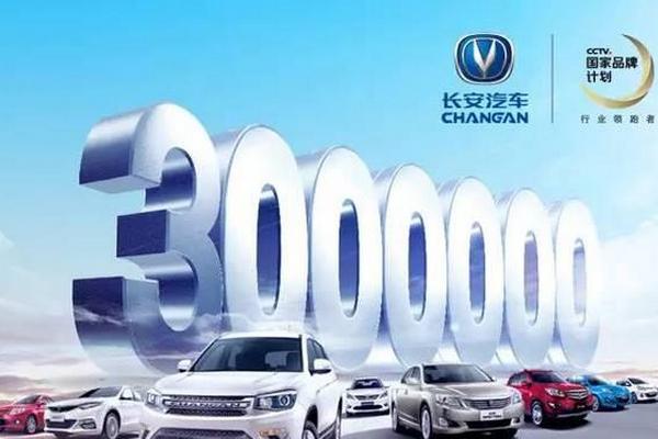 长安汽车连续8款产品过万,年度中国品牌销量第