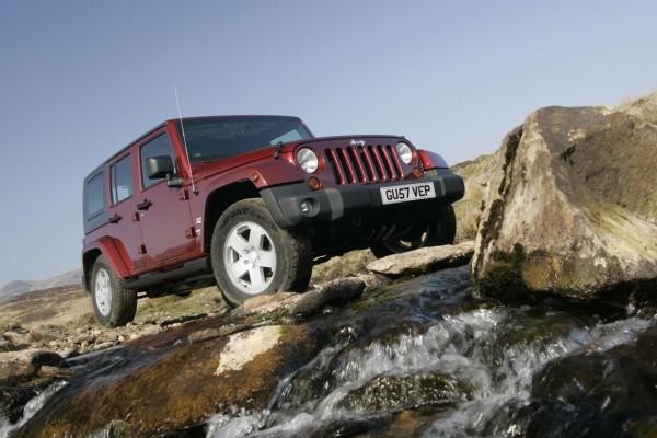 Jeep Wrangler Unlimited [UK] (2008)