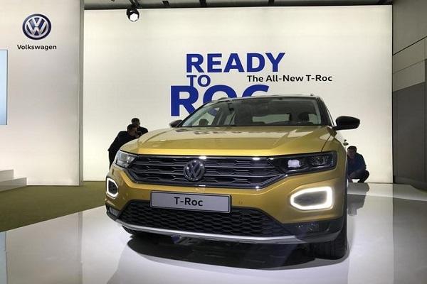 2018年推出 一汽-大众T-Roc白车身下线