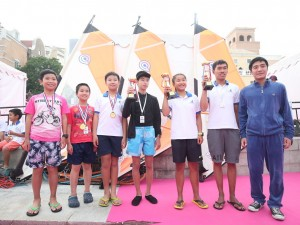 OP青少年帆船赛颁奖典礼