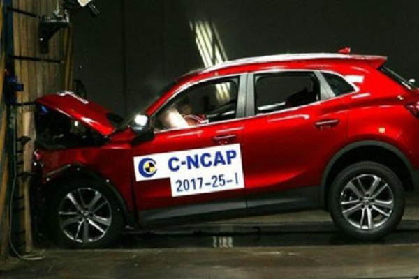 宝沃BX5 25T GDI 获C-NCAP五星安全评级
