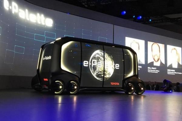 丰田推出自动驾驶概念车 将与滴滴亚马逊合作