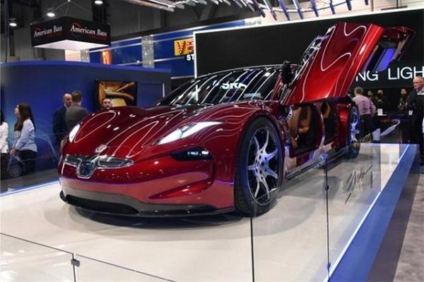 全球豪华电动跑车, 出自阿斯顿马丁V8设计师之手