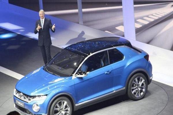 一汽大众终于有SUV了,新款大众T-ROC即将上市