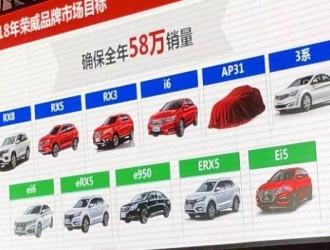 代号AP31 荣威将推出全新紧凑型轿车