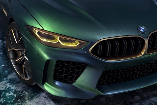 2018 BMW Concept M8 Gran Coupe