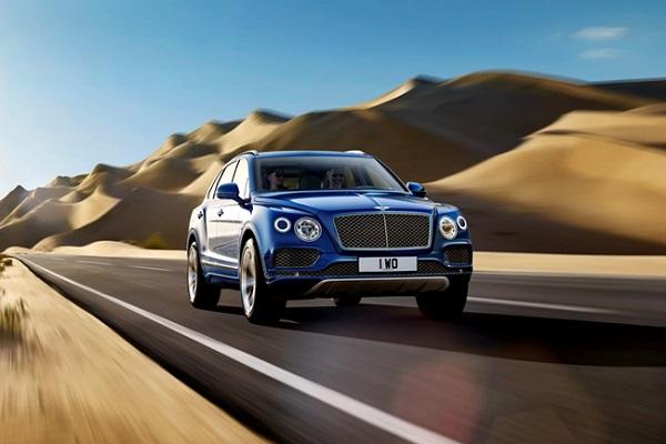 宾利添越 V8车型亮相北京车展 或8月上市