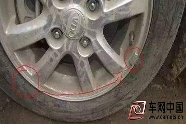 在汽修店换轮胎,切记检查这个东西换没换!