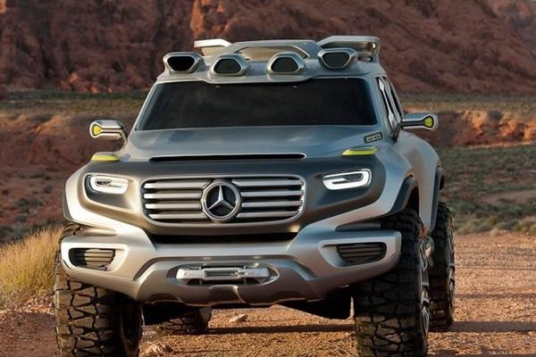 奔驰的新能源汽车让人大开眼界!