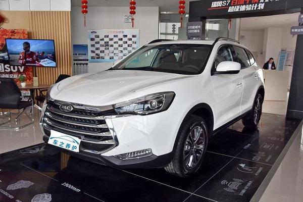 车长接近4米8,2.0T配有ABS+DSC,中国品牌7座SU