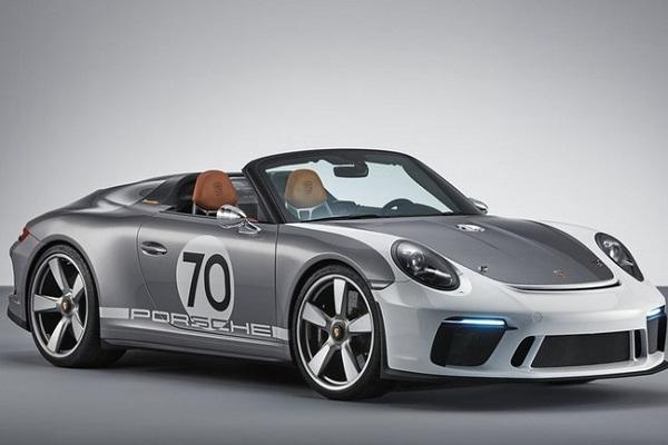 保时捷发布911 Speedster官图 911世代收官之作