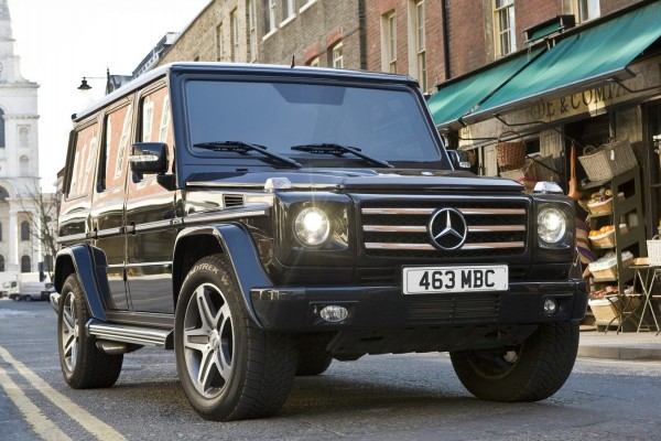 Mercedes-Benz G-Class [UK] (2010)