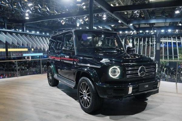 奔驰全新G级将于8月7日正式上市 全新造型/内饰更具科技感