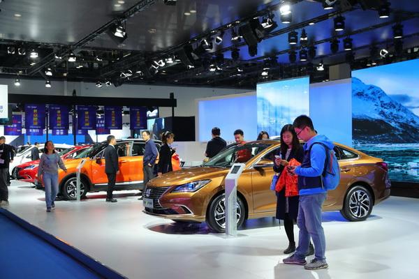 人气满满-2018世界智能网联汽车大会车展