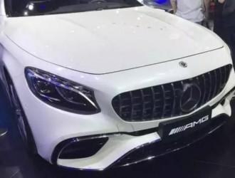 2018深港澳车展:梅赛德斯-AMG S 63轿跑正式亮