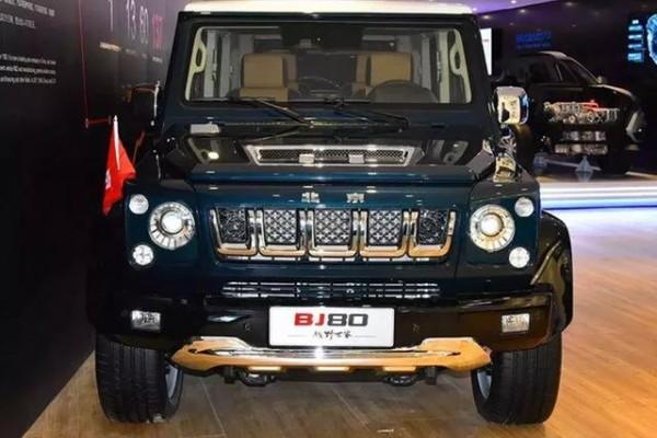"""北京BJ80有着""""低配版大G""""的称号,同时也是硬"""