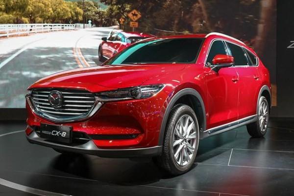 全新中型SUV马自达CX-8正式下线,有望在今年上