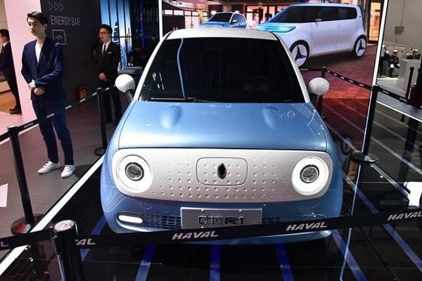 """长城旗下又一款纯电动车将要上市,外观太像""""猪"""