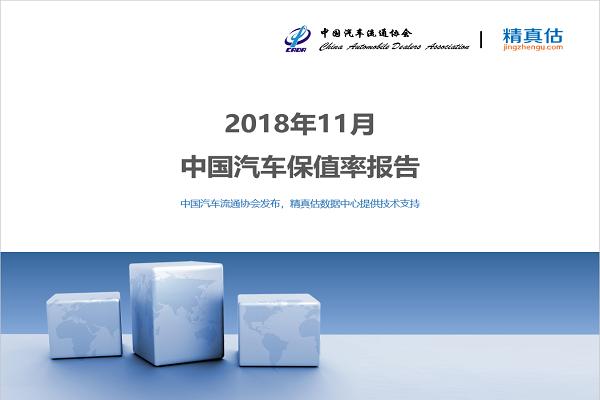 2018年11月中国汽车保值率:国六新车发布 二手