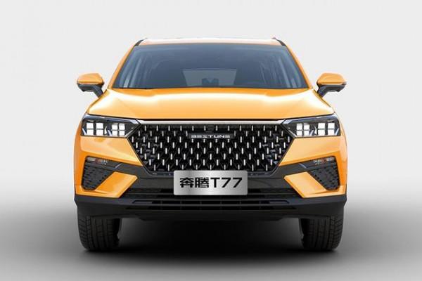 全新紧凑型SUV奔腾T77即将上市,颜值比T-ROC探