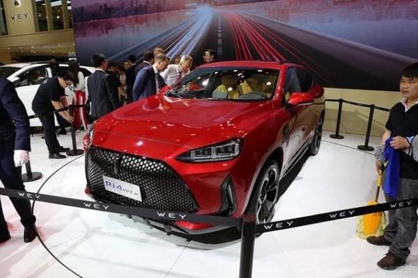 长城VV7x量产版路试图曝光,定位轿跑SUV,有望今年上市