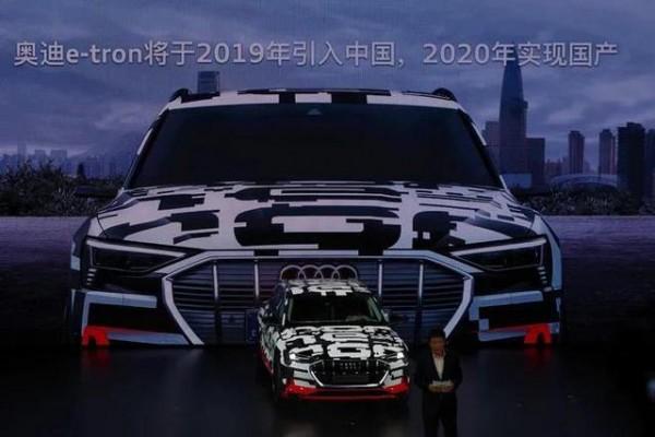 奥迪e-tron有望2020年引进国产,预计续航可达500km
