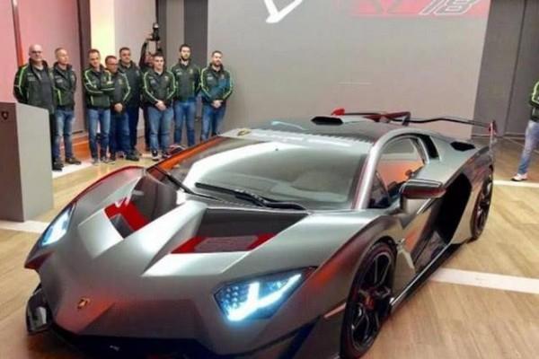 全球仅此一辆的超级跑车 车主竟是中国人