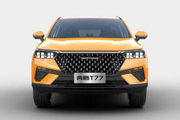 全新紧凑型SUV奔腾T77上市,颜值比T-ROC探歌好看多了
