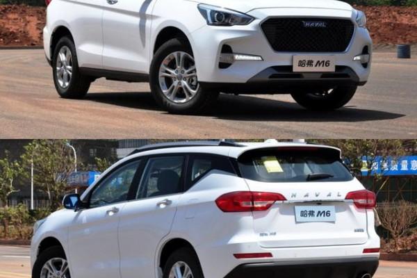 7万级SUV之争——新远景SUV对比哈弗M6,谁的性