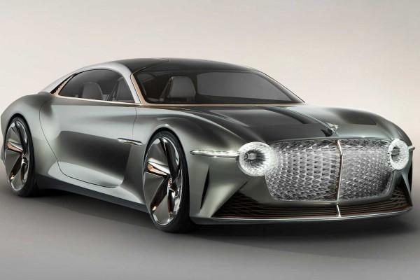宾利百周年概念车7月10发布 展示未来30年的设计