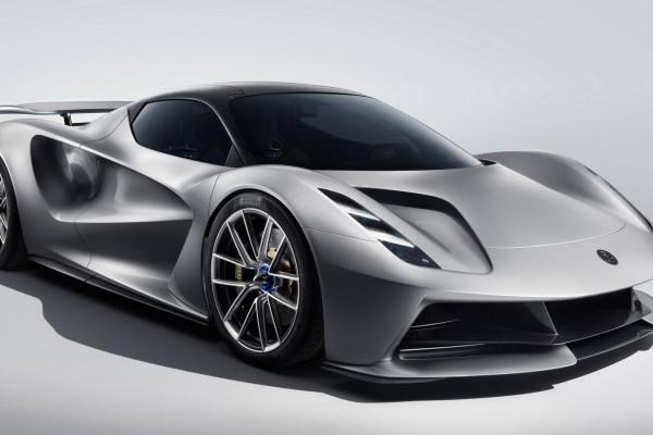 莲花首款全电动超级跑车2020 Lotus Evija