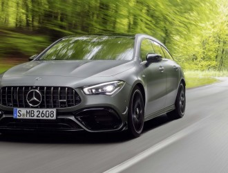 2020奔驰AMG CLA 45 S 4MATIC Shooting Brake(