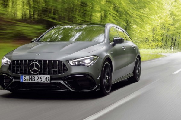 2020 Mercedes-Benz CLA45 S AMG 4Matic Shooting Brake