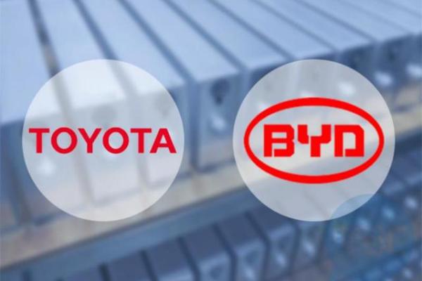 比亚迪与丰田将成立合资公司