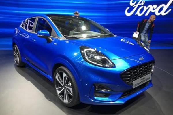 2019法兰克福车展:福特PUMA正式发布