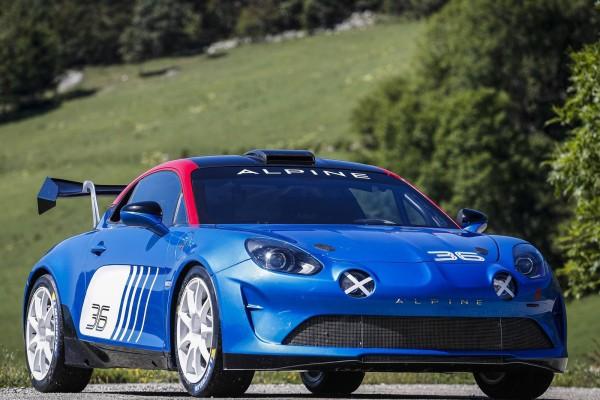 ALPINE推出A110 Rally拉力赛车