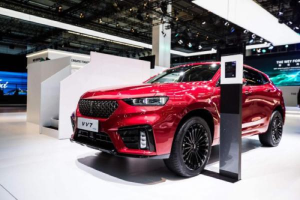 WEY强势登陆法兰克福车展,中国品牌再次被全世