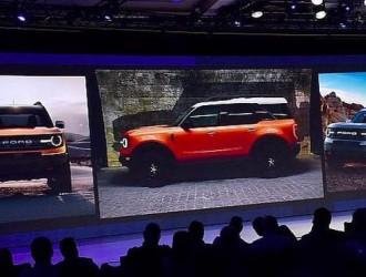 延续硬派风格 全新福特Bronco新预告图
