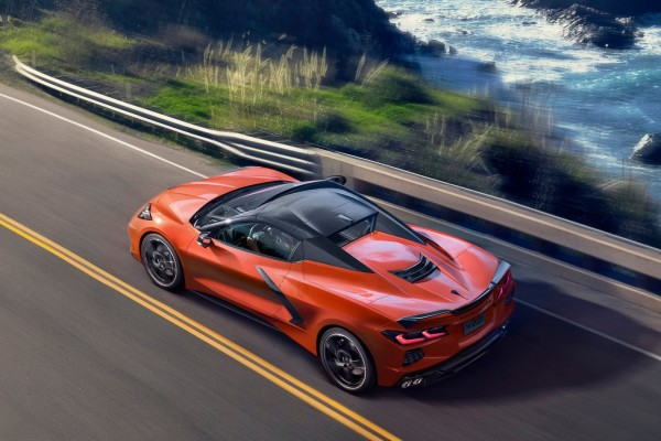 2020 Chevrolet Corvette C8 Stingray Convertible