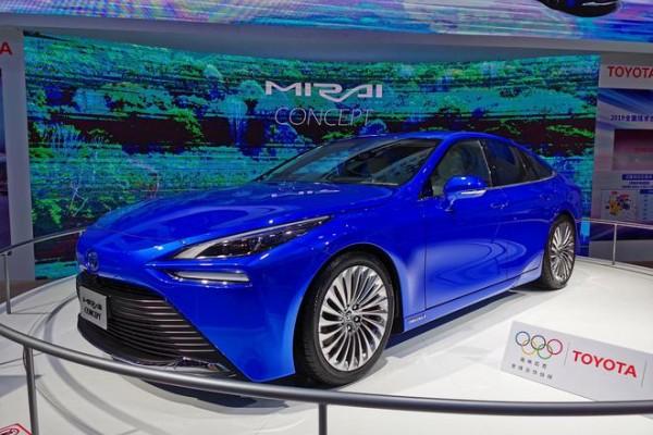 2019进博会:丰田第二代Mirai概念车亮相