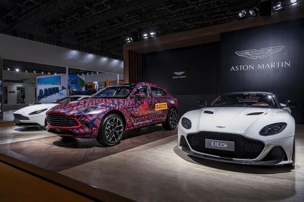 2019进博会:阿斯顿·马丁首款SUV车型DBX亮相