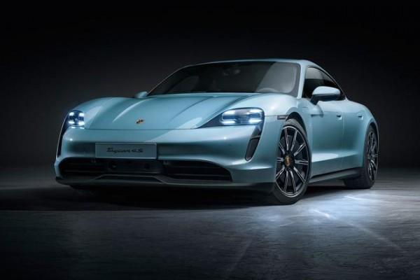 2019洛杉矶车展:保时捷Taycan 4S全球首发