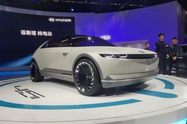 2019广州车展:现代45概念车亮相