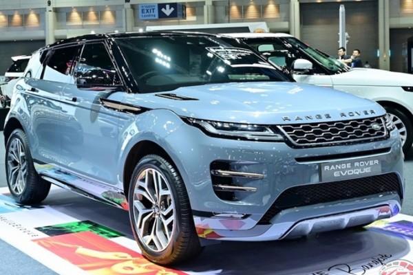 路虎新款揽胜极光正式上市 搭1.5T混动系统车型