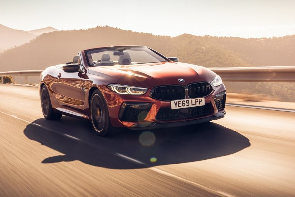 2020 BMW M8 Competition Convertible [UK]