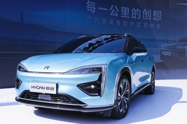 广汽蔚来首款SUV预售26万起 续航高达643公里