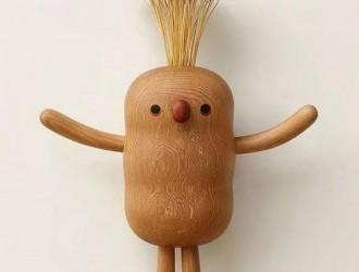 奶爸自学木工为萌娃做玩具 最终成为木作大师